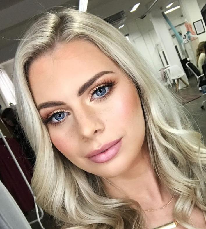 Hollie Noelle bridal makeup London