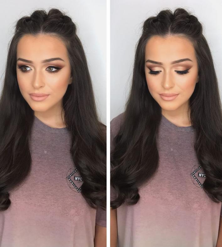 Hollie Noelle hair and makeup London